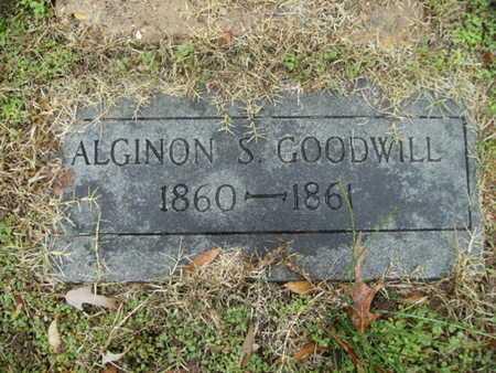 GOODWILL, ALGINON S - Webster County, Louisiana | ALGINON S GOODWILL - Louisiana Gravestone Photos