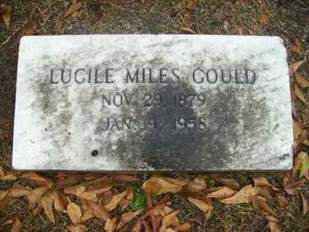 GOULD, LUCILE - Webster County, Louisiana | LUCILE GOULD - Louisiana Gravestone Photos