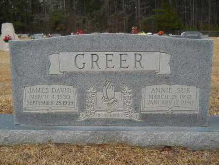 GREER, ANNIE SUE - Webster County, Louisiana | ANNIE SUE GREER - Louisiana Gravestone Photos