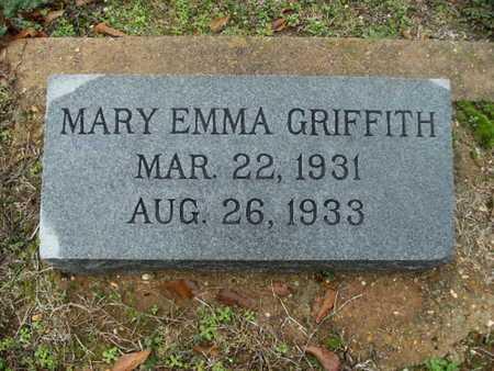 GRIFFITH, MARY EMMA - Webster County, Louisiana | MARY EMMA GRIFFITH - Louisiana Gravestone Photos