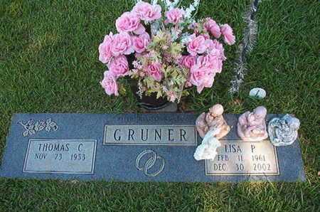 GRUNER, LISA P - Webster County, Louisiana   LISA P GRUNER - Louisiana Gravestone Photos