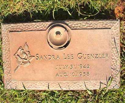 GUENZLER, SANDRA LEE - Webster County, Louisiana   SANDRA LEE GUENZLER - Louisiana Gravestone Photos