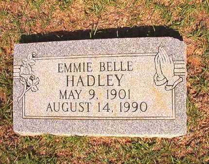 HADLEY, EMMIE BELLE - Webster County, Louisiana | EMMIE BELLE HADLEY - Louisiana Gravestone Photos