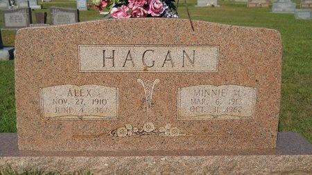 HAGAN, MINNIE M - Webster County, Louisiana   MINNIE M HAGAN - Louisiana Gravestone Photos