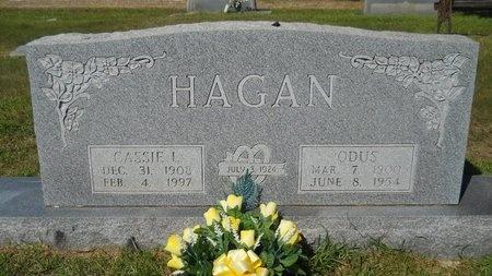 HAGAN, ODUS - Webster County, Louisiana | ODUS HAGAN - Louisiana Gravestone Photos