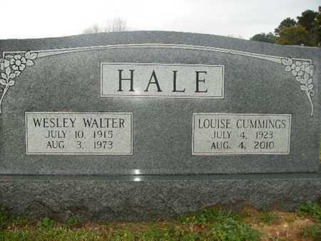 HALE, WESLEY WALTER - Webster County, Louisiana | WESLEY WALTER HALE - Louisiana Gravestone Photos