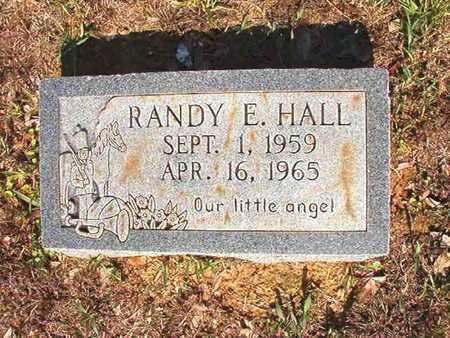 HALL, RANDY E - Webster County, Louisiana | RANDY E HALL - Louisiana Gravestone Photos