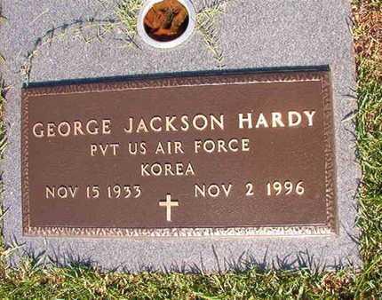 HARDY, GEORGE JACKSON (VETERAN KOR) - Webster County, Louisiana | GEORGE JACKSON (VETERAN KOR) HARDY - Louisiana Gravestone Photos