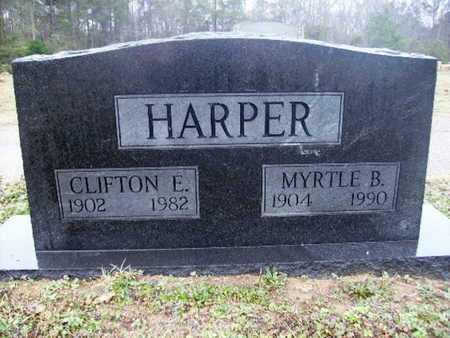 HARPER, MYRTLE B - Webster County, Louisiana | MYRTLE B HARPER - Louisiana Gravestone Photos