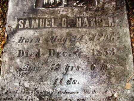 HARPER, SAMUEL B (CLOSE UP) - Webster County, Louisiana | SAMUEL B (CLOSE UP) HARPER - Louisiana Gravestone Photos