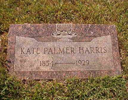 HARRIS, KATE - Webster County, Louisiana | KATE HARRIS - Louisiana Gravestone Photos