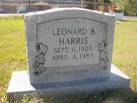 HARRIS, LEONARD B - Webster County, Louisiana   LEONARD B HARRIS - Louisiana Gravestone Photos