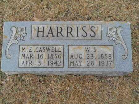 HARRISS, MARY ELIZA - Webster County, Louisiana | MARY ELIZA HARRISS - Louisiana Gravestone Photos