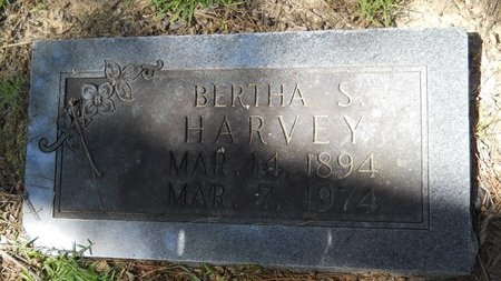 HARVEY, BERTHA S - Webster County, Louisiana | BERTHA S HARVEY - Louisiana Gravestone Photos