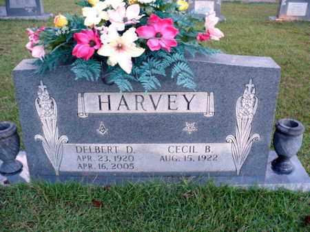 HARVEY, DELBERT D - Webster County, Louisiana | DELBERT D HARVEY - Louisiana Gravestone Photos