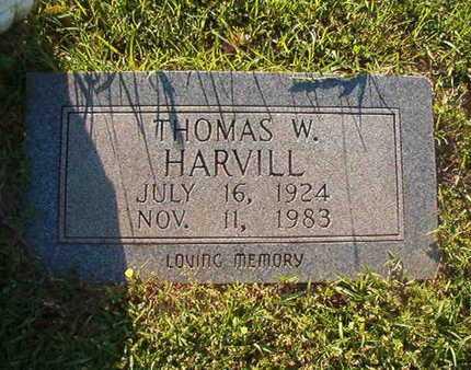 HARVILL, THOMAS W - Webster County, Louisiana | THOMAS W HARVILL - Louisiana Gravestone Photos