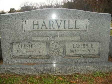 HARVILLE, CHESTER CLAUD - Webster County, Louisiana | CHESTER CLAUD HARVILLE - Louisiana Gravestone Photos