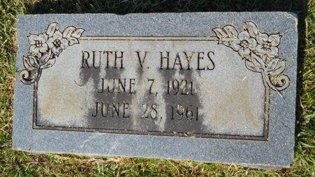 HAYES, RUTH V - Webster County, Louisiana | RUTH V HAYES - Louisiana Gravestone Photos