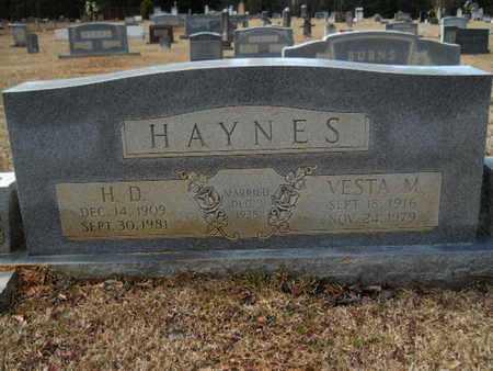 HAYNES, FRANCES VESTA - Webster County, Louisiana | FRANCES VESTA HAYNES - Louisiana Gravestone Photos