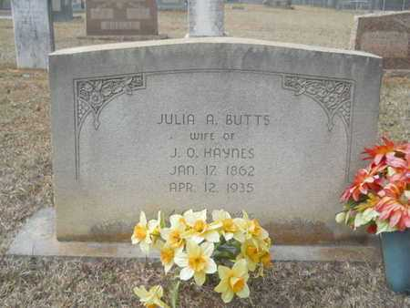 BUTTS HAYNES, JULIA A - Webster County, Louisiana | JULIA A BUTTS HAYNES - Louisiana Gravestone Photos