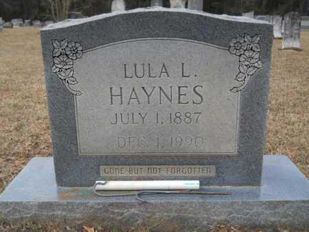 HAYNES, LULA L - Webster County, Louisiana   LULA L HAYNES - Louisiana Gravestone Photos