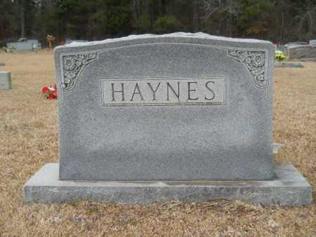 HAYNES, MEMORIAL - Webster County, Louisiana | MEMORIAL HAYNES - Louisiana Gravestone Photos
