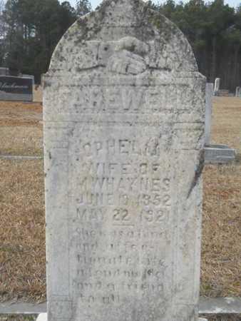 HAYNES, MARY OPHELIA - Webster County, Louisiana | MARY OPHELIA HAYNES - Louisiana Gravestone Photos