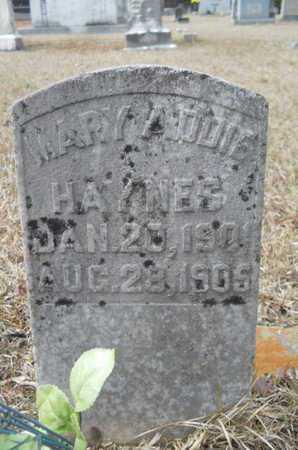HAYNES, MARY ADDIE - Webster County, Louisiana | MARY ADDIE HAYNES - Louisiana Gravestone Photos