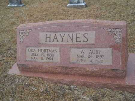 HAYNES, W AUBY - Webster County, Louisiana | W AUBY HAYNES - Louisiana Gravestone Photos