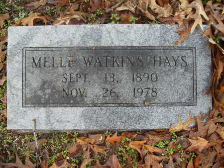 HAYS, MELLE - Webster County, Louisiana | MELLE HAYS - Louisiana Gravestone Photos