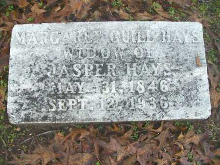 GUILL HAYS, MARGARET - Webster County, Louisiana | MARGARET GUILL HAYS - Louisiana Gravestone Photos