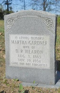 GARDNER HEARON, MARTHA - Webster County, Louisiana | MARTHA GARDNER HEARON - Louisiana Gravestone Photos