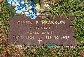 HEARRON, GLYNNB (VETERAN WWII) - Webster County, Louisiana | GLYNNB (VETERAN WWII) HEARRON - Louisiana Gravestone Photos