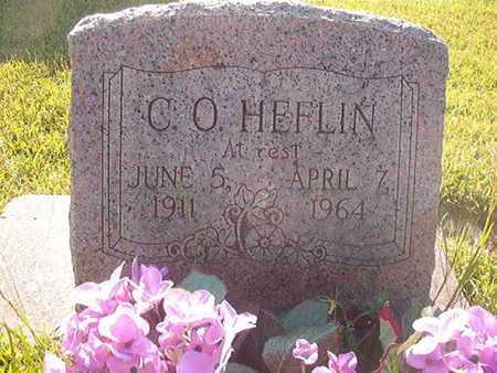HEFLIN, C O - Webster County, Louisiana   C O HEFLIN - Louisiana Gravestone Photos
