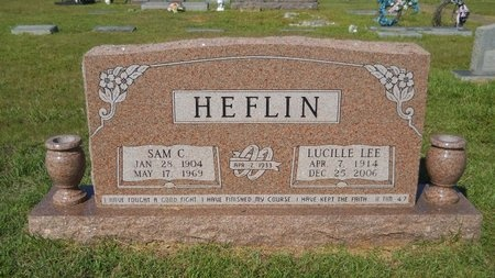 HEFLIN, SAM C - Webster County, Louisiana | SAM C HEFLIN - Louisiana Gravestone Photos