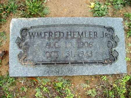 HEMLER, WILLIAM FRED, JR - Webster County, Louisiana | WILLIAM FRED, JR HEMLER - Louisiana Gravestone Photos