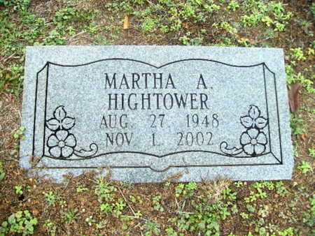 HIGHTOWER, MARTHA A - Webster County, Louisiana | MARTHA A HIGHTOWER - Louisiana Gravestone Photos