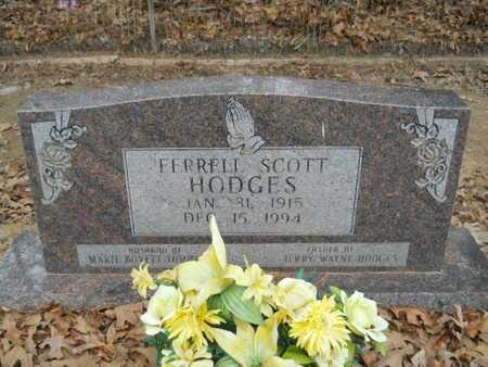 HODGES, FERRELL SCOTT - Webster County, Louisiana   FERRELL SCOTT HODGES - Louisiana Gravestone Photos