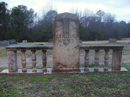 HOFMEISTER, MONUMENT - Webster County, Louisiana | MONUMENT HOFMEISTER - Louisiana Gravestone Photos