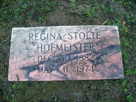 STOLTE HOFMEISTER, REGINA - Webster County, Louisiana | REGINA STOLTE HOFMEISTER - Louisiana Gravestone Photos