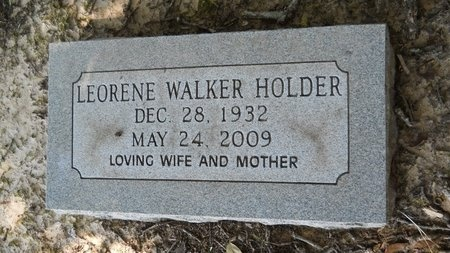 HOLDER, LEORENE - Webster County, Louisiana | LEORENE HOLDER - Louisiana Gravestone Photos