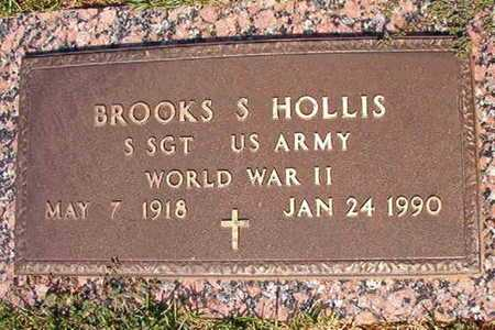 HOLLIS, BROOKS S (VETERAN WWII) - Webster County, Louisiana | BROOKS S (VETERAN WWII) HOLLIS - Louisiana Gravestone Photos