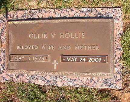TUCKER HOLLIS, OLLIE VEE - Webster County, Louisiana | OLLIE VEE TUCKER HOLLIS - Louisiana Gravestone Photos