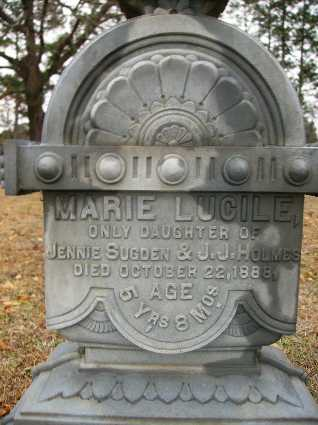 HOLMES, MARIE LUCILE (CLOSE UP) - Webster County, Louisiana | MARIE LUCILE (CLOSE UP) HOLMES - Louisiana Gravestone Photos