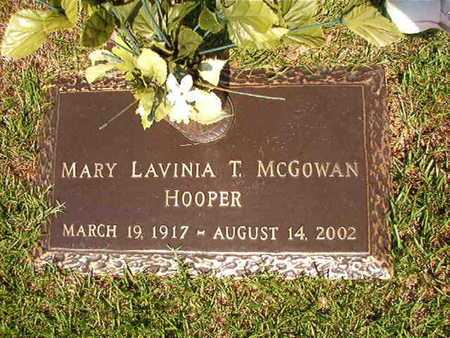 HOOPER, MARY LAVINIA T - Webster County, Louisiana | MARY LAVINIA T HOOPER - Louisiana Gravestone Photos