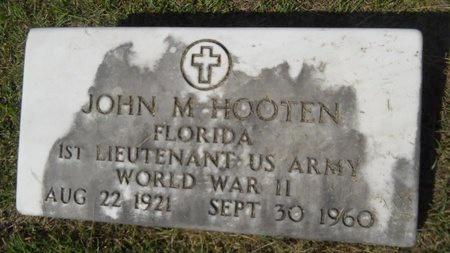 HOOTEN, JOHN M (VETERAN WWII) - Webster County, Louisiana | JOHN M (VETERAN WWII) HOOTEN - Louisiana Gravestone Photos