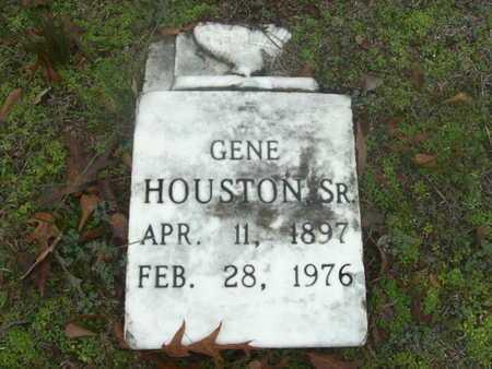 HOUSTON, GENE, SR - Webster County, Louisiana | GENE, SR HOUSTON - Louisiana Gravestone Photos