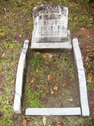 HUCKINS, BETTY VANCE - Webster County, Louisiana | BETTY VANCE HUCKINS - Louisiana Gravestone Photos