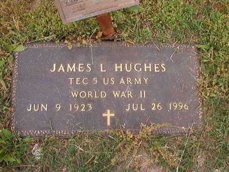 HUGHES, JAMES L (VETERAN WWII) - Webster County, Louisiana | JAMES L (VETERAN WWII) HUGHES - Louisiana Gravestone Photos