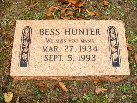 HUNTER, BESS - Webster County, Louisiana | BESS HUNTER - Louisiana Gravestone Photos